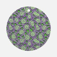 Coil Crunch Ornament (Round)