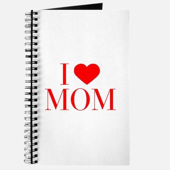 I love Mom-Bau red 500 Journal