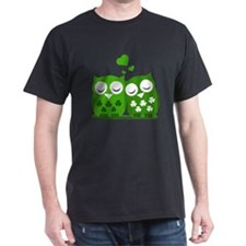 Green Owls T-Shirt