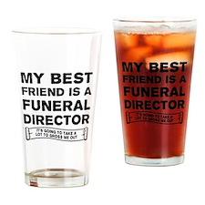 Funny Undertaker Drinking Glass