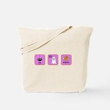 Eek, Boo, Mmm Halloween Tote Bag