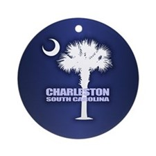 Charleston Ornament (Round)