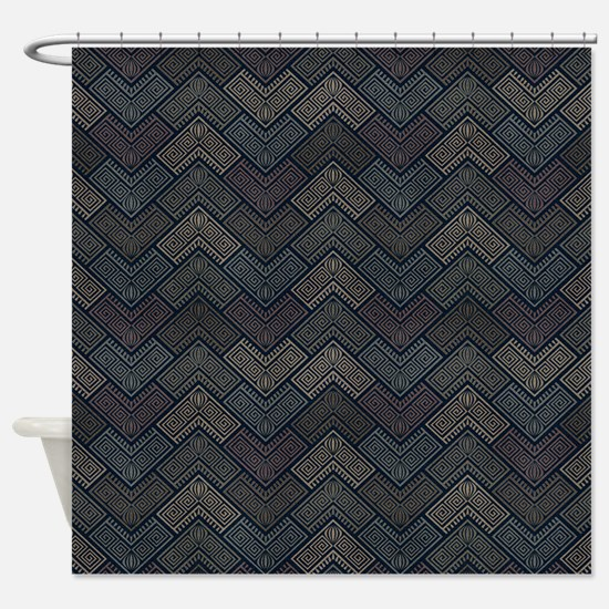 Aztec Fitting Shower Curtain