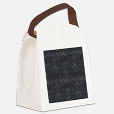 Aztec Fitting Canvas Lunch Bag