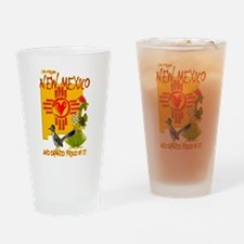 I'M FROM NEW MEXICO Drinking Glass
