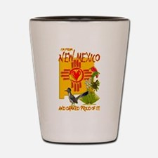 I'M FROM NEW MEXICO Shot Glass