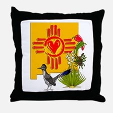 NEW MEXICO MY HOME Throw Pillow