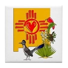 NEW MEXICO MY HOME Tile Coaster