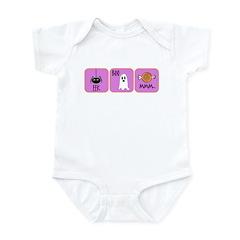 Eek, Boo, Mmm Halloween Infant Bodysuit