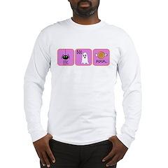 Eek, Boo, Mmm Halloween Long Sleeve T-Shirt