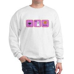 Eek, Boo, Mmm Halloween Sweatshirt