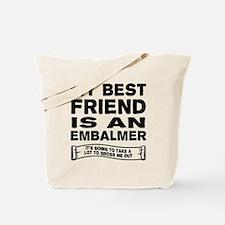 Unique Embalming Tote Bag