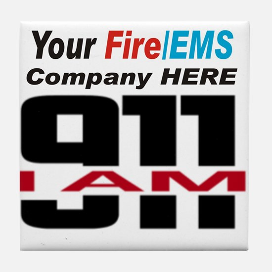 To customize: email us at info@iam911.ORG: Tile Co
