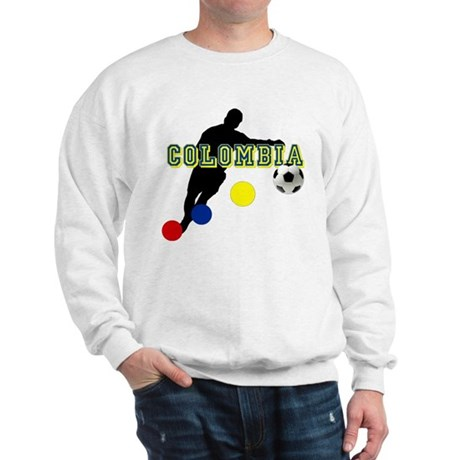 Colombia Futbol Player Sweatshirt