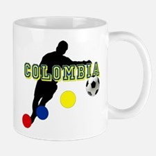 Colombia Futbol Player Mug