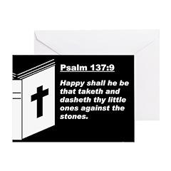 Psalm 137:9 Greeting Card