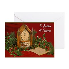 To Brother At FESTIVUS™ Card