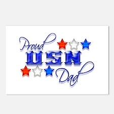 USN Star Dad Postcards (Package of 8)