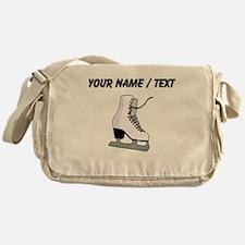 Custom Ice Skate Messenger Bag