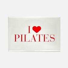 I love Pilates-Bau red 500 Magnets