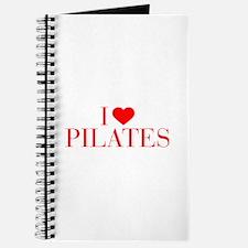 I love Pilates-Bau red 500 Journal
