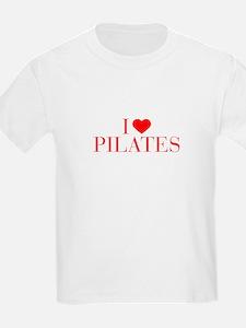 I love Pilates-Bau red 500 T-Shirt