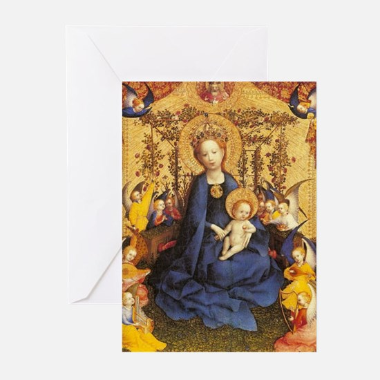 Madonna of the Roses Christmas Cards (Pk of 20)