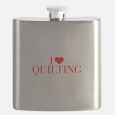 I love Quilting-Bau red 500 Flask