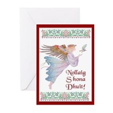 Angel With Dove Christmas Cards (Pk of 20)