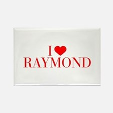I love RAYMOND-Bau red 500 Magnets
