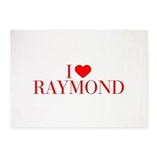 I love RAYMOND-Bau red 500 5'x7'Area Rug