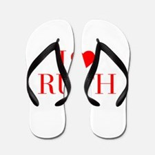 I love RUTH-Bau red 500 Flip Flops