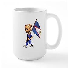 American Samoa Girl Mug