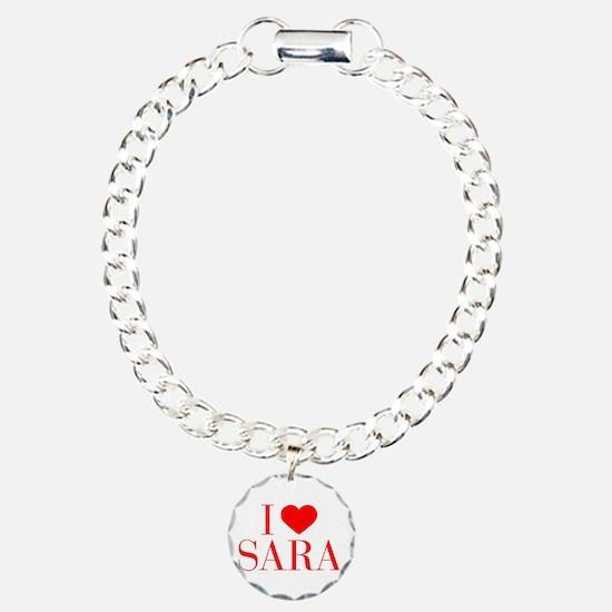 I love SARA-Bau red 500 Bracelet