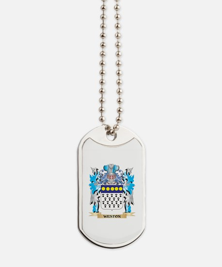 Weston Coat of Arms - Family Crest Dog Tags