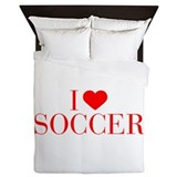 Personalized soccer duvet Queen Duvet Covers