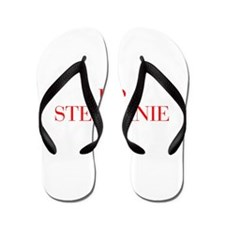 I love STEPHANIE-Bau red 500 Flip Flops