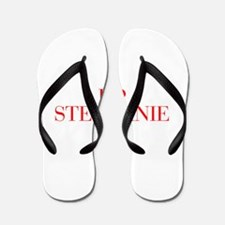 I love STEPHANIE-Bau red 500 Flip Flops