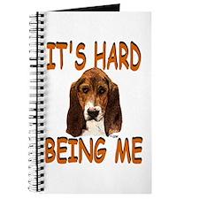 Hard Being Me Basset Journal