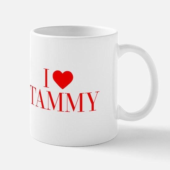 I love TAMMY-Bau red 500 Mugs