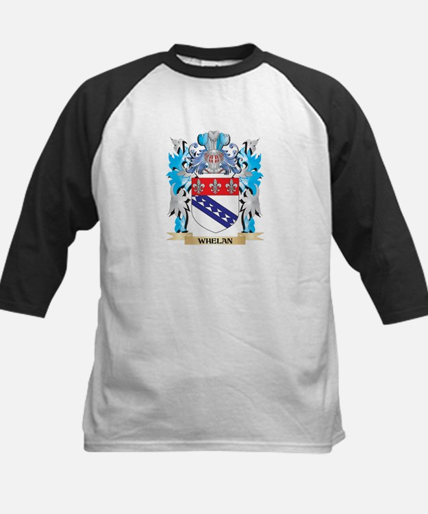 Whelan Coat of Arms - Family Crest Baseball Jersey