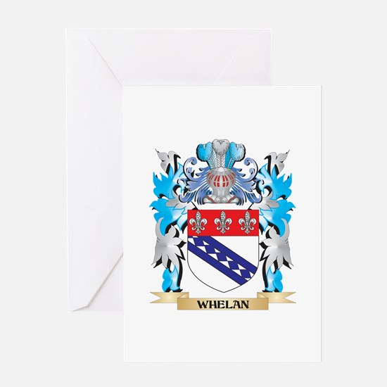 Whelan Coat of Arms - Family Crest Greeting Cards