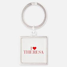 I love THERESA-Bau red 500 Keychains