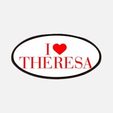 I love THERESA-Bau red 500 Patch