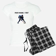 Custom Hockey Player Pajamas