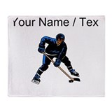 Hockey Fleece Blankets