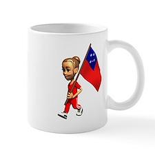 Samoa Girl Mug