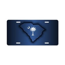 South Carolina (geo) Aluminum License Plate