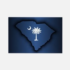 South Carolina (geo) Magnets