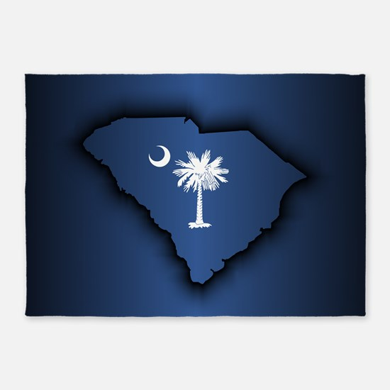 South Carolina (geo) 5'x7'Area Rug